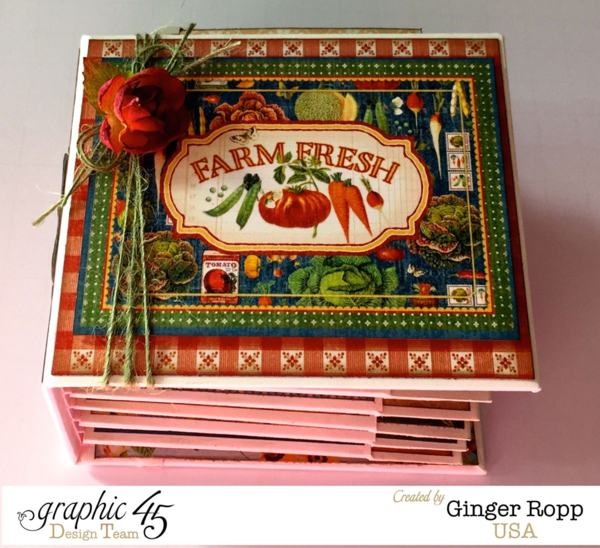 Home Sweet Home Mini Album by the amazing Ginger #graphic45
