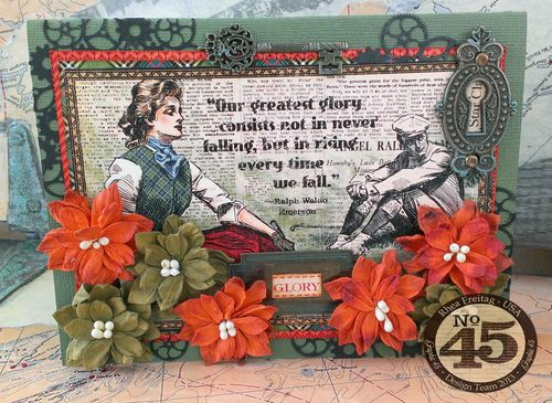 A Fond Farewell to Rhea Freitag #graphic45