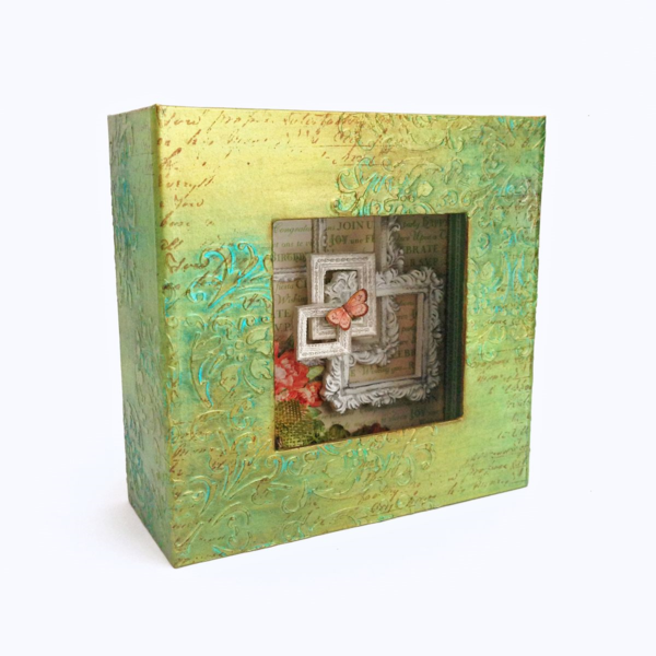 Time to Celebrate Mixed Media Box by Katie #graphic45