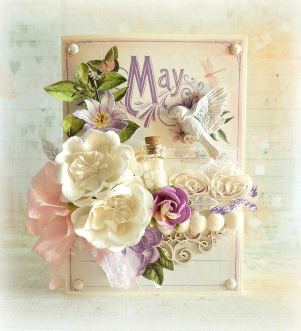 May Time to Flourish card by Mariuisz Gierszewski #graphic45