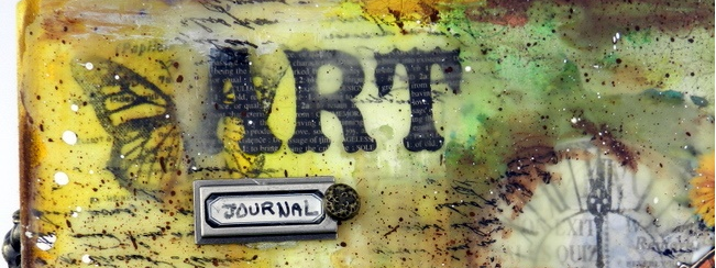 Art Journal cover by Solange Marques using Graphic 45 products 7