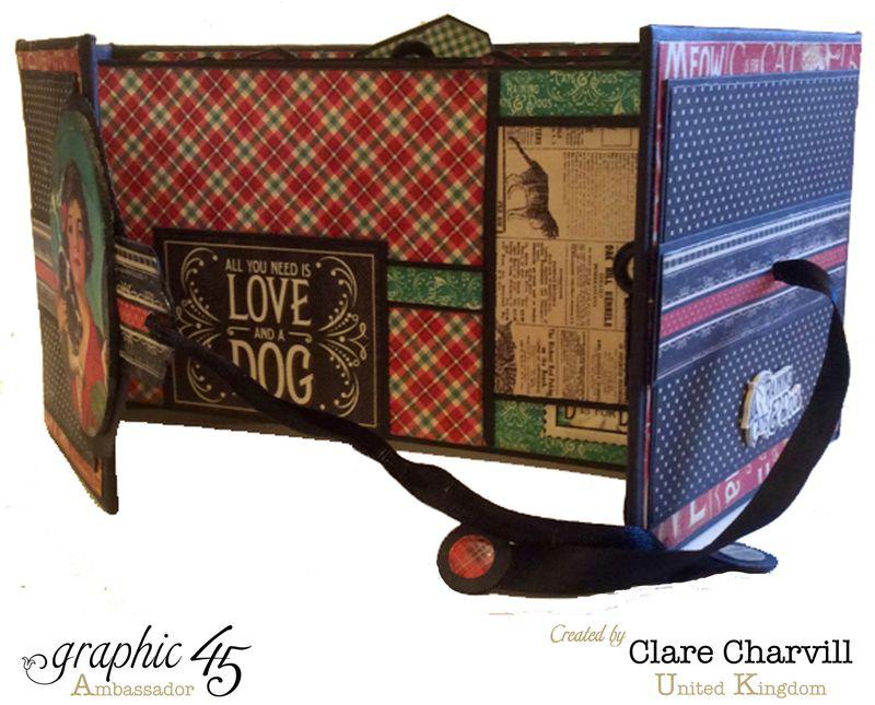 RCD Flip Flap Album Clare Charvill Graphic 45 8