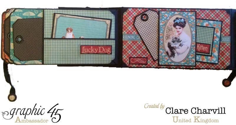 RCD Flip Flap Album Clare Charvill Graphic 45 10