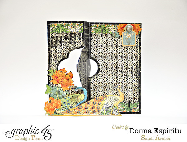 "Artisan Style ""Dream"" card by Donna #graphic45"