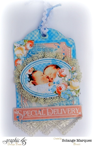 Mixed Media Precious Memories tags by Solange Marques