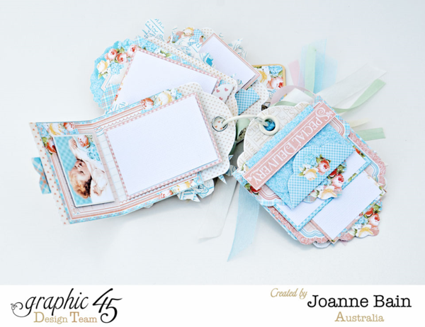 Precious Memories tag album by Joanne Bain #graphic45