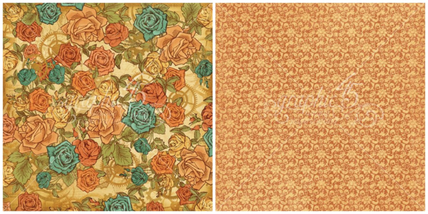 """""""Fantasy Floral"""" of Steampunk Debutante! This Deluxe Collector's Edition will be in stores in late August 2015 #graphic45 #sneakpeeks"""