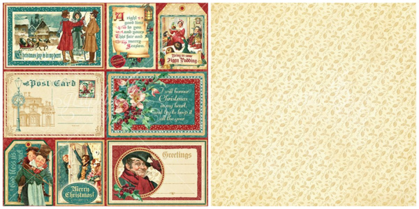 """Figgy Pudding"" from A Christmas Carol - this new collection will be in stores in late August 2015 #graphic45 #sneakpeeks"