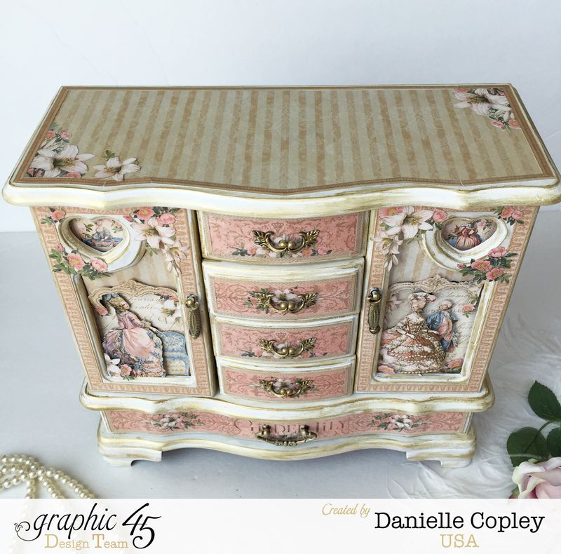 Gilded Lily Jewelry Armoire, Gilded Lily, by Danielle Copley, Graphic 45, photo 7