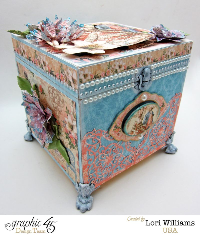 Box with Gilded Lily by Lori Williams Product Graphic 45 photo 2