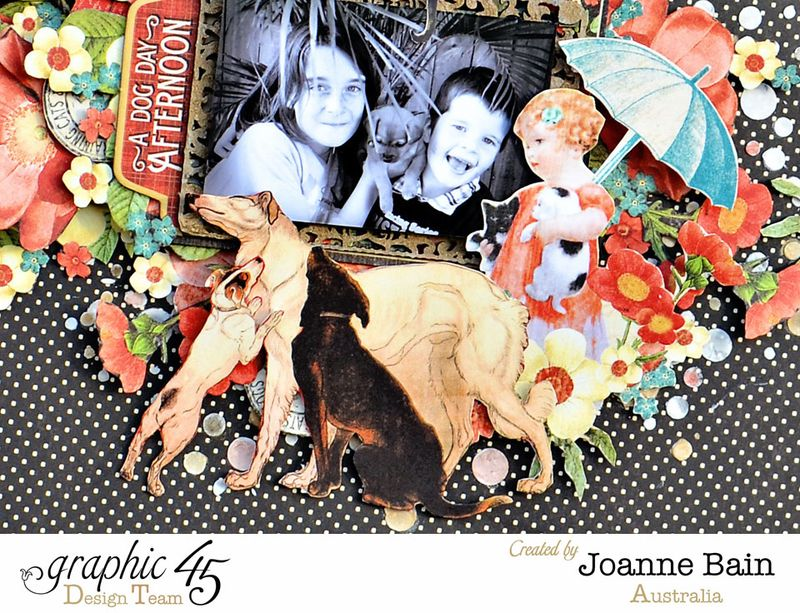 Joanne-Bain_Raining-Cats-And-Dogs_Faber-Castell_Layout_detail5