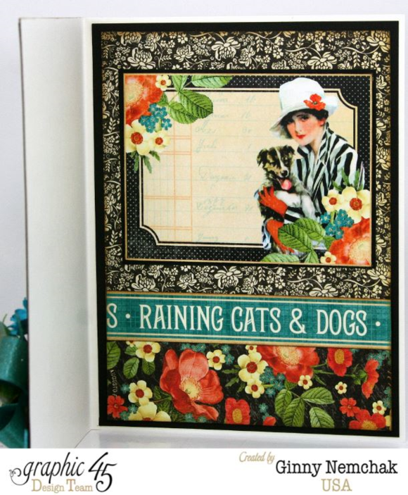 Raining Cats and Dogs Card by Ginny #graphic45