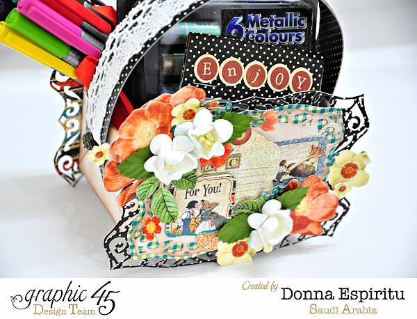 Raining Cats & Dogs Back to School treat box by Donna Espiritu #graphic45