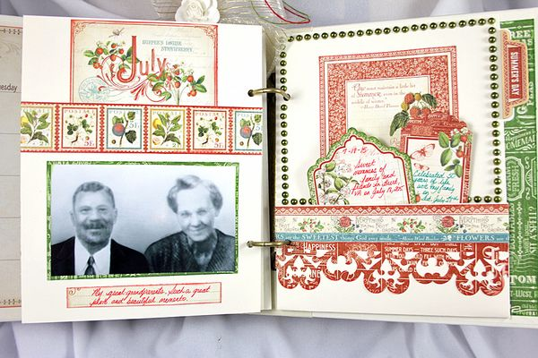 Family Reunion Album, Time to Flourish, by Robin Shakoor, Product by Graphic 45, Photo 6
