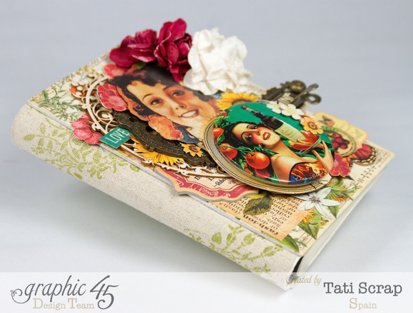 Tati, Notepad Holder, Clearsnap, Graphic 45