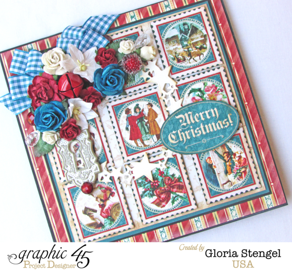 A Christmas Carol card by Gloria Stengel #graphic45