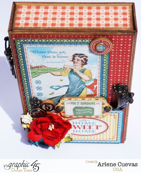 Altered Box and Album_HomeSweetHome_ArleneCuevas_Graphic45_Photo2