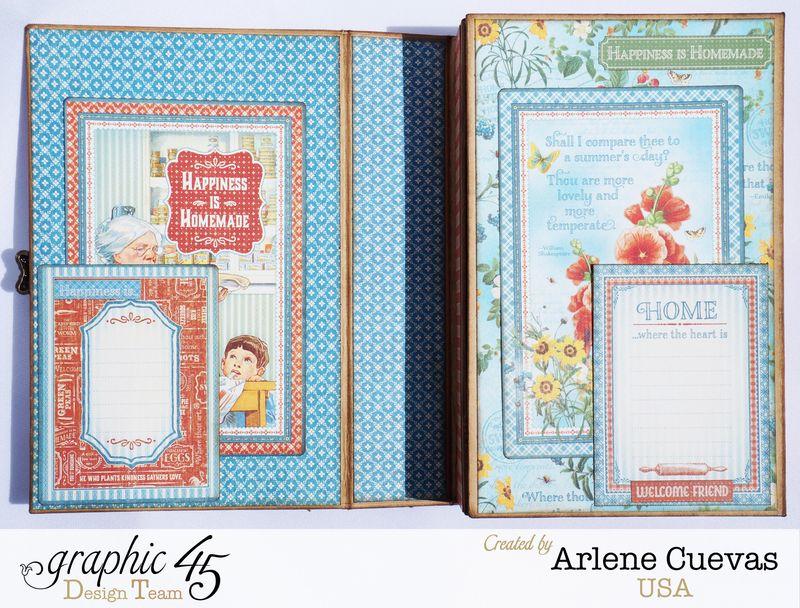 Altered Box and Album_HomeSweetHome_ArleneCuevas_Graphic45_Photo8