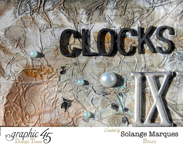 Art Journal by Solange Marques. Graphic 45 Times Nouveau Deluxe Collector's Edition (2)