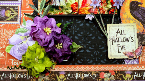 All Hallow's Eve, Time to Flourish, Maggi Harding, Graphic 45 (1)