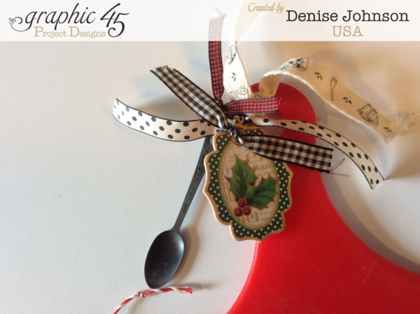 Twas the Night Before Christmas recipe book by Denise Johnson. What a fabulous gift idea! #graphic45