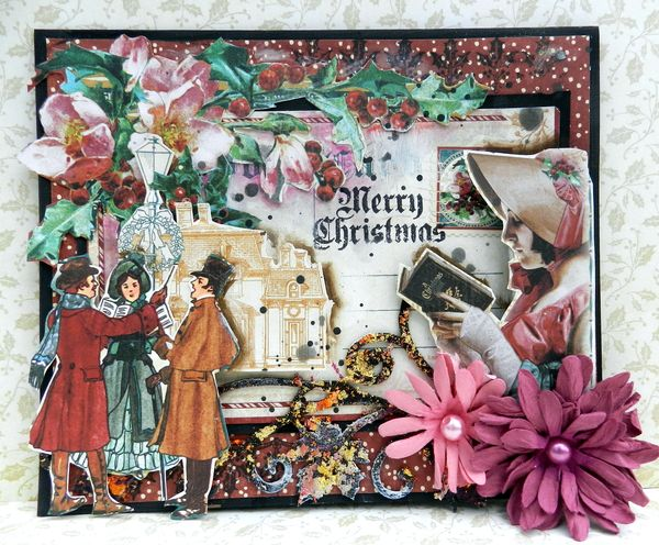 Christmas Card by Solange Marques using G45 A Christmas Carol (1)
