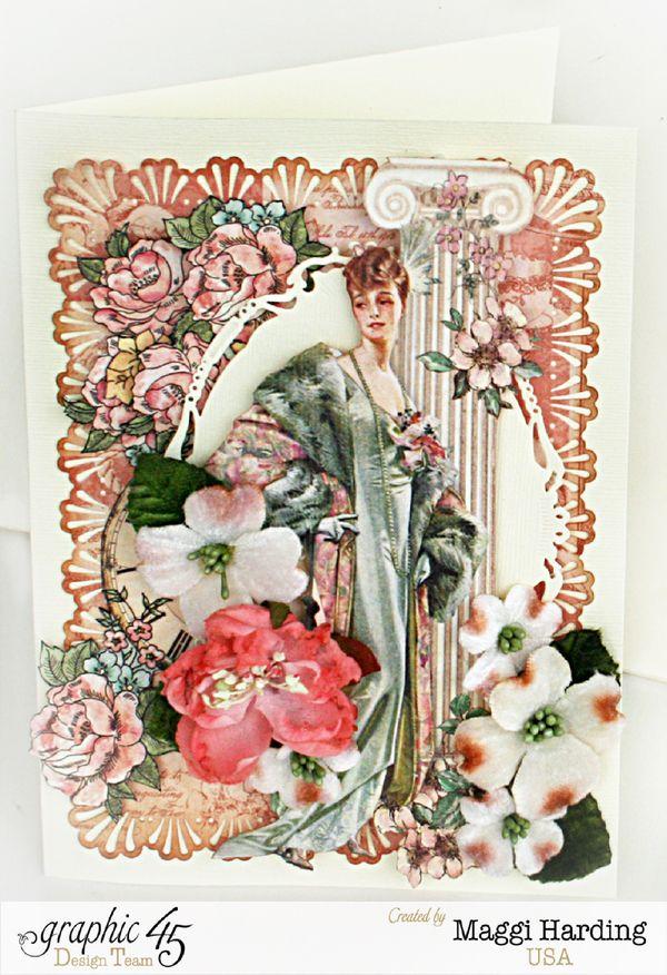 Card, Ladies Diary, Maggi Harding, Graphic 45 (1)
