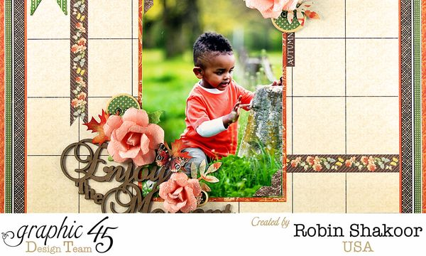 Enjoy the Moment, Children's Hour, by Robin Shakoor, Product by Graphic 45, Photo 1