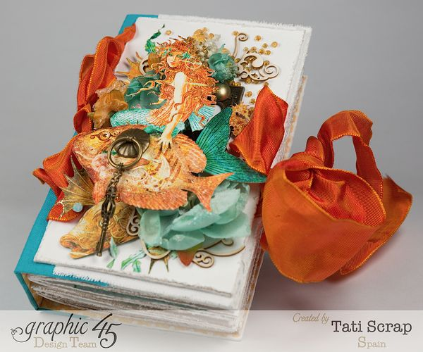 Tati,Traveller Book, Voyage Beneath the Sea, Product by Graphic 45, Photo 10