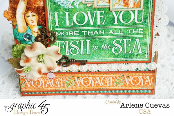 Card, Voyage Beneath The Sea, Arlene Cuevas, By Graphic 45, Photo1