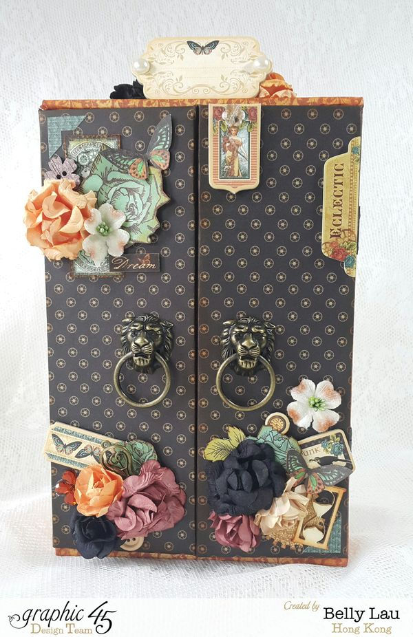 Altered Cigar Box - Graphic 45 - Steampunk Debutante - DCE - Belly Lau - Papercraft Buffet - Tutorial - Photo 1