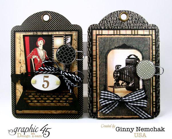 Commuique Box With Tags Graphic 45 Ginny Nemchak Communique 1