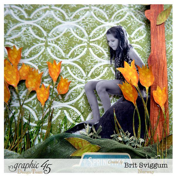 Springtime - April - Graphic45 - Brit Sviggum