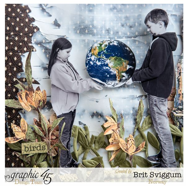Earthday - April - Graphic45 - Brit Sviggum 1