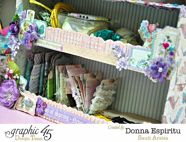 Trims-and-ribbon-organizer,Sweet-Sentiments,-Donna-Espiritu,Graphic-45,-project01