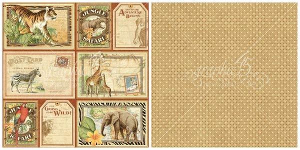 11 - Jungle Expedition from Safari Adventure, a new collection from Graphic 45