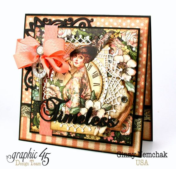 Mother's Day A Ladies Diary Card Graphic 45 Ginny Nemchak 1