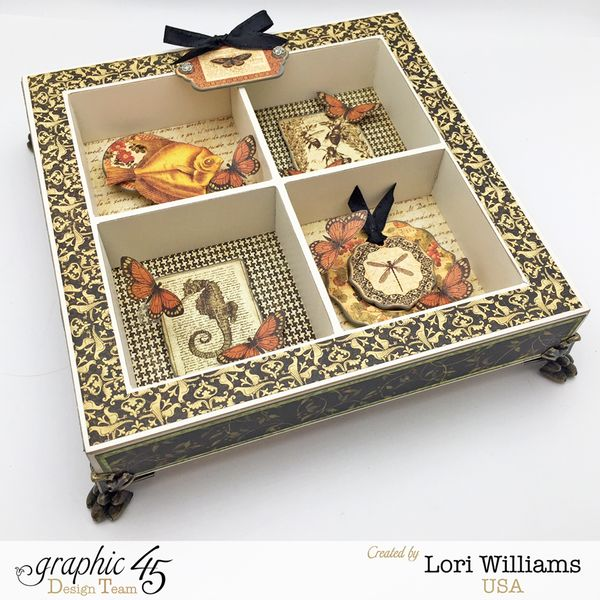 Botanciabella Nature Box by Lori Williams desiging Graphic 45 photo 1