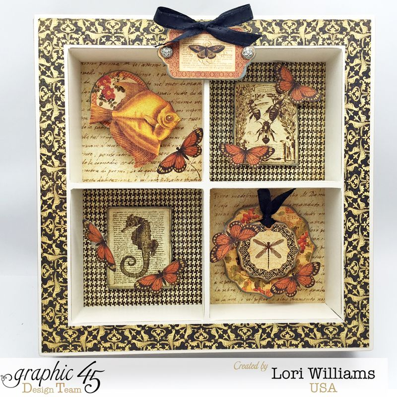Botanciabella Nature Box by Lori Williams desiging Graphic 45 photo 2