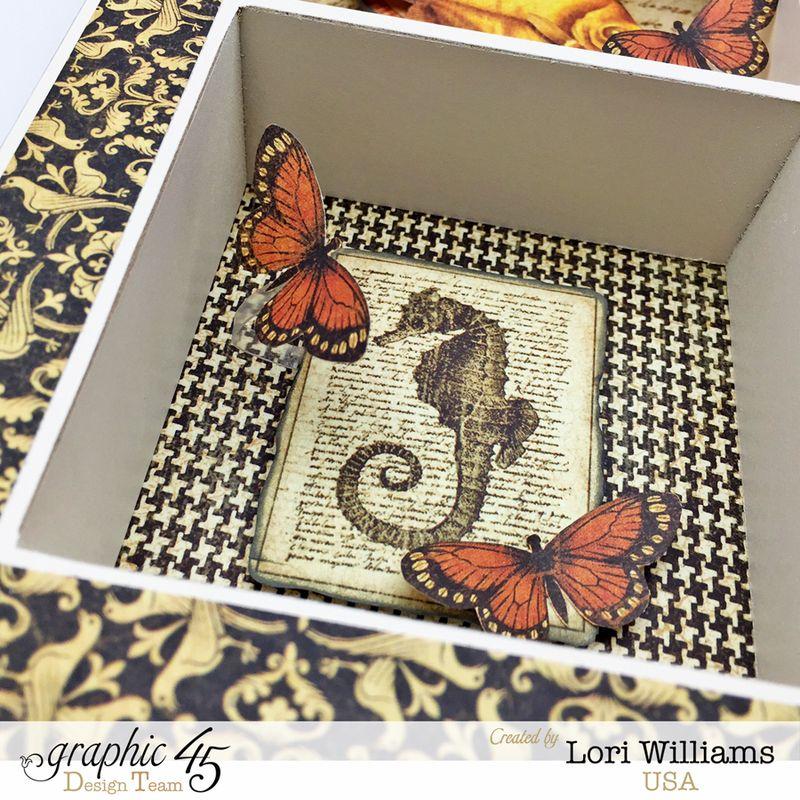 Botanciabella Nature Box by Lori Williams desiging Graphic 45 photo5