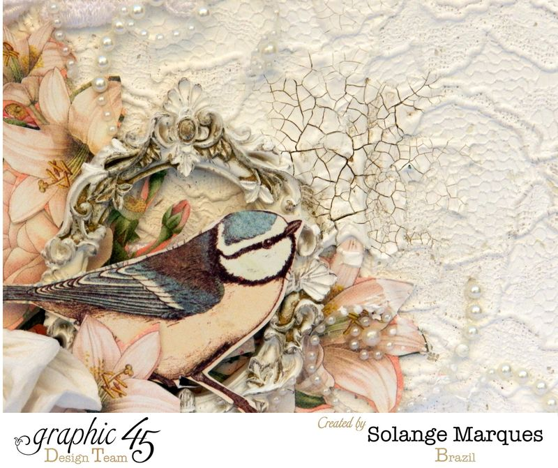 Mixed Media Album by Solange Marques using Graphic 45 Gilded Lily and Botanical Tea collections- 08