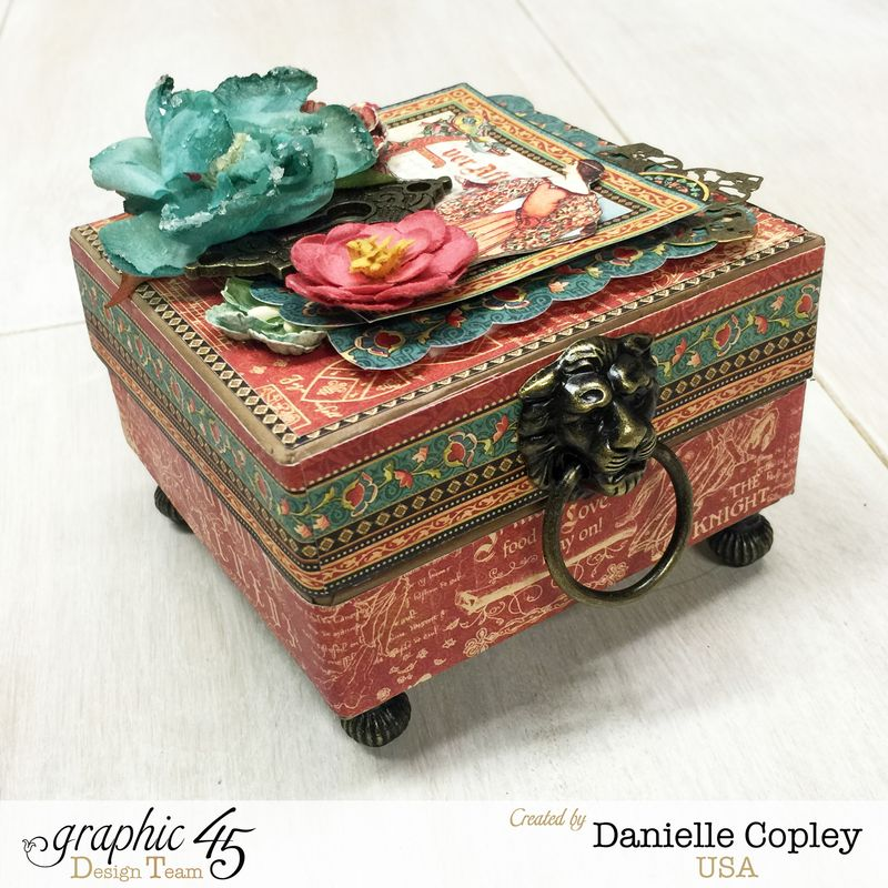 Enchanting Boxed Mini Album, Enchanted Forest, by Danielle Copley, Graphic 45, photo 2