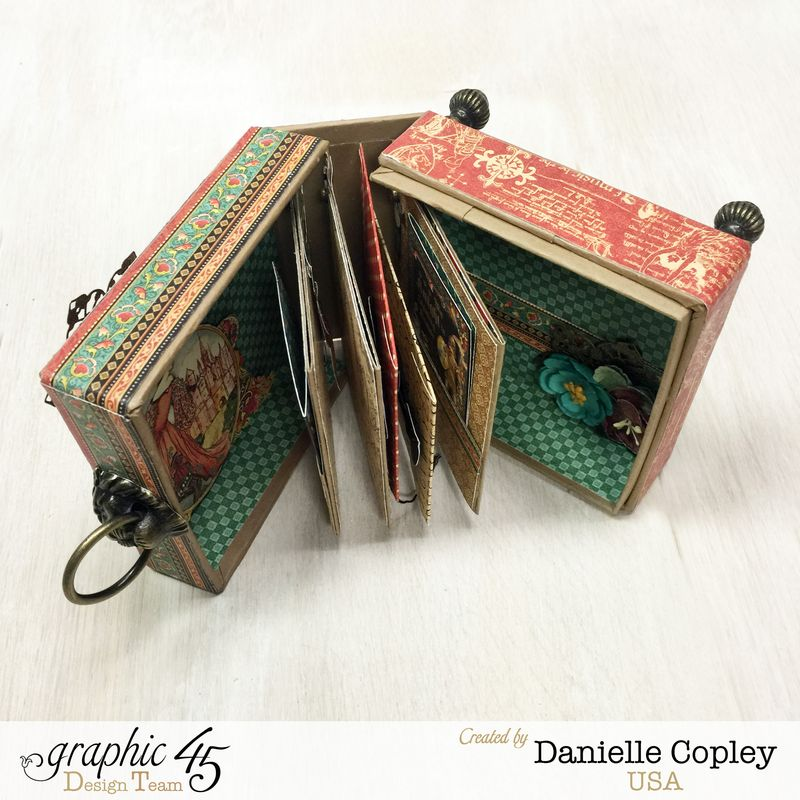Enchanting Boxed Mini Album, Enchanted Forest, by Danielle Copley, Graphic 45, photo 3