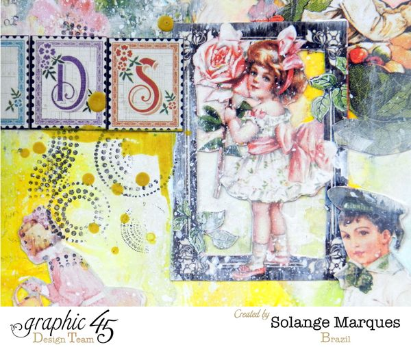 Art Journal by Solange Marques using Graphic 45 Children's Hour- 01