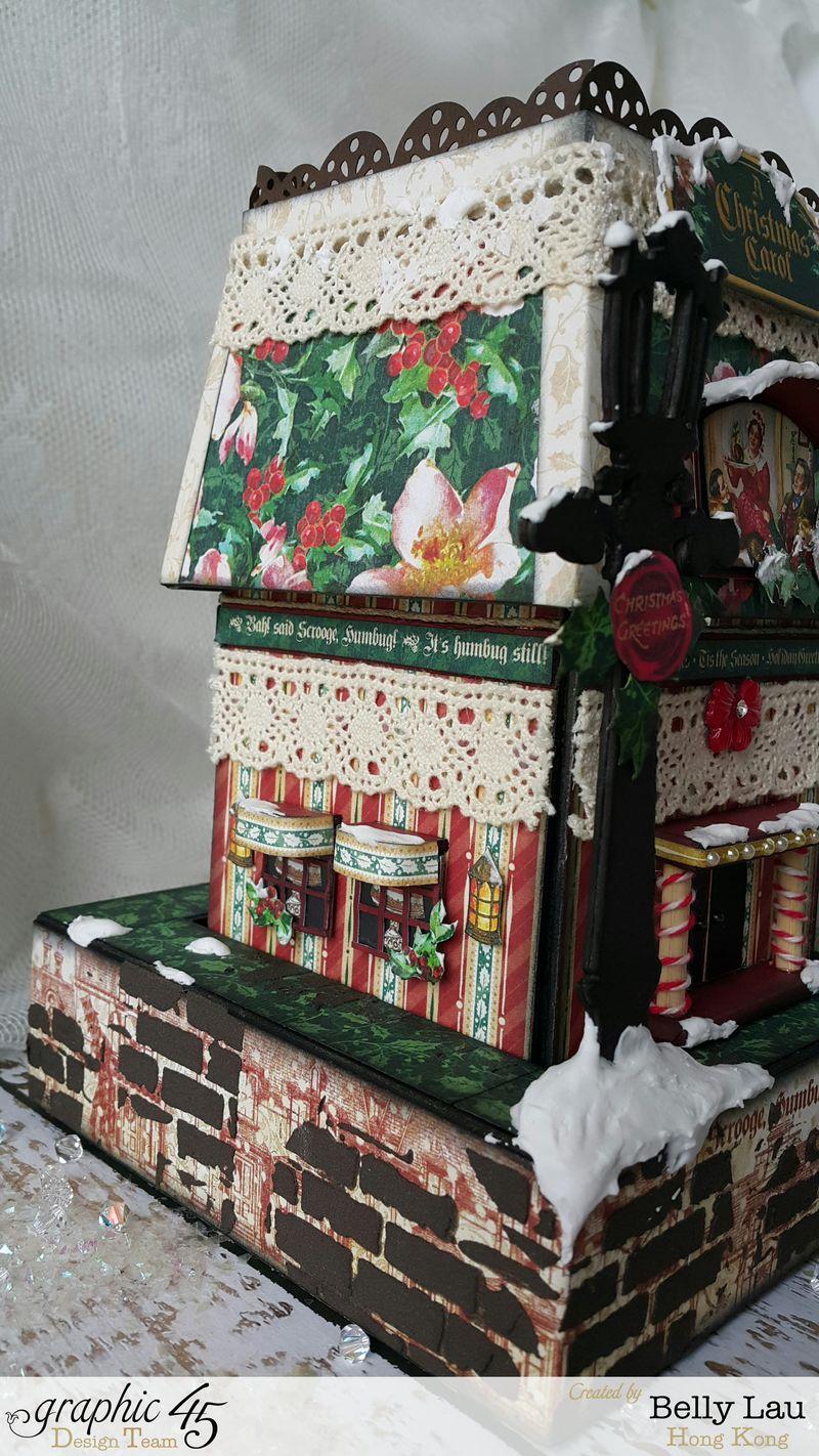 Christmas Village Mini Album Set - Graphic 45 - Christmas Carol - Belly - 8