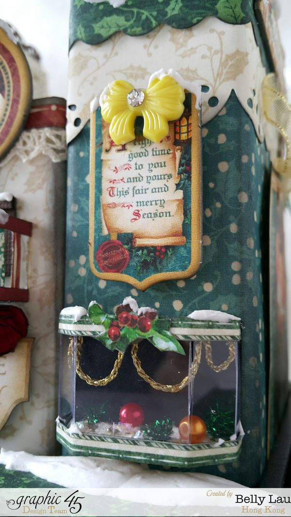 Christmas Village Mini Album Set - Graphic 45 - Christmas Carol - Belly - 22