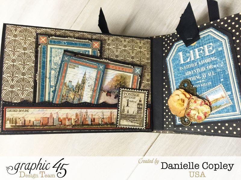 Cityscaped Mini Album, Cityscapes, Danielle Copley, Graphic 45, photo 6