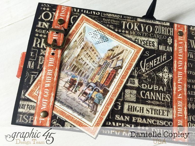Cityscaped Mini Album, Cityscapes, Danielle Copley, Graphic 45, photo 4