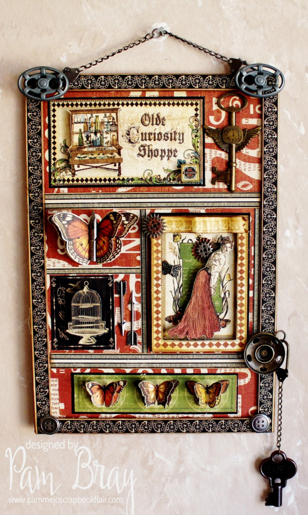 Olde Curiosity Shoppe Shadowbox