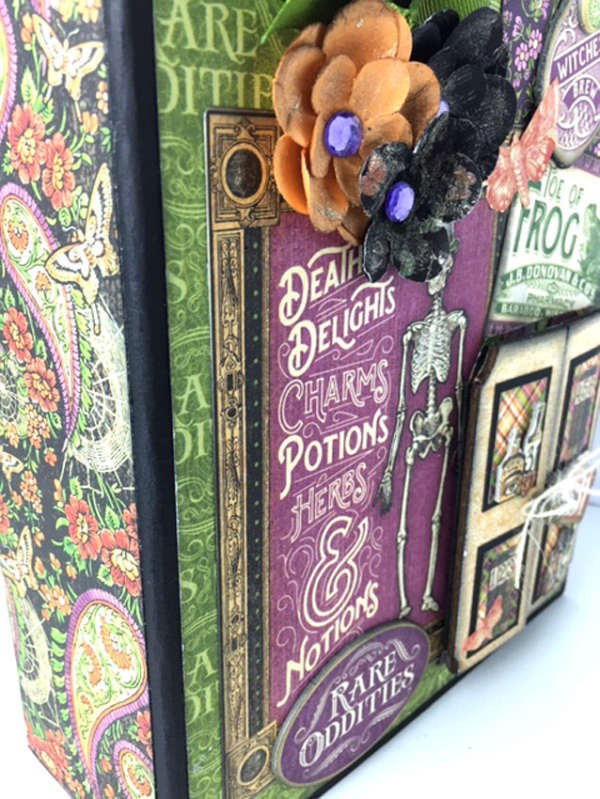Book of Spells, Rare Oddities, by Sandy Trefger, Product by Graphic 45, Photo 1